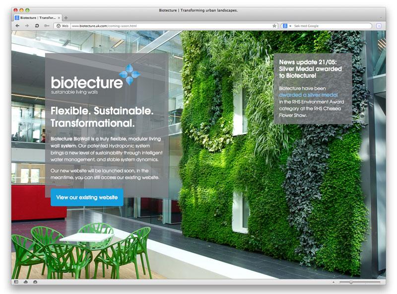 England og Dubai bruker plantevegg i Trondheim som referanse